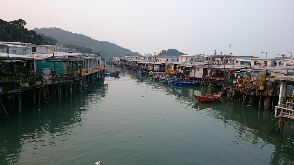 Tai O halászfalu